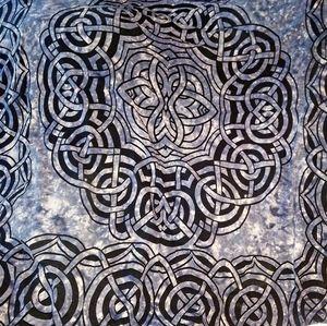 XL Celtic Knot Tapestry